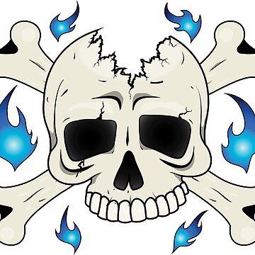 Broken Skull by isrealrod