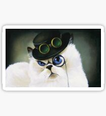 Miss. Kitty Bartholomew Sticker