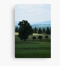 Landscape, Gettysburg Canvas Print