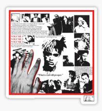 XXXTENTACION - MEMBERS ONLY, VOL,3  Sticker