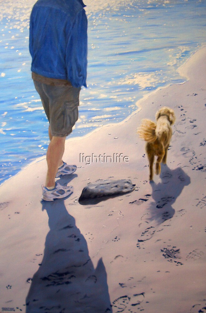 One Dog and His Man  by lightinlife