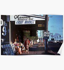 Suburban Corner Shop,Granville,Australia 1976 Poster