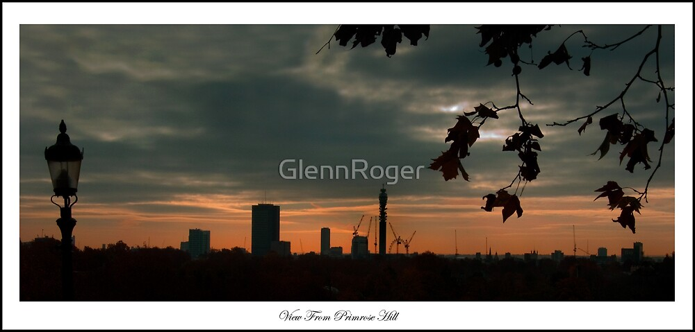 Sunrise view from Primrose Hill by GlennRoger