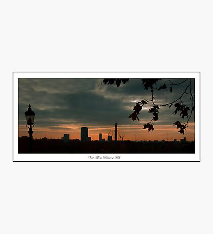 Sunrise view from Primrose Hill Photographic Print