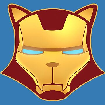 Iron cat by AlexDouMan