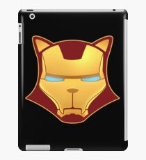 Iron cat iPad Case/Skin