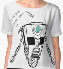 Claptrap - Not the droid you are looking for Chiffon Top