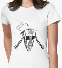Claptrap - Not the droid you are looking for Women's Fitted T-Shirt