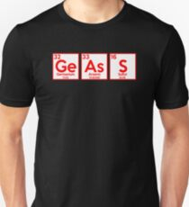 Geass Parody Periodic Table Anime Shirt Unisex T-Shirt
