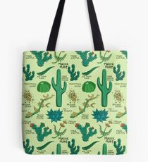 Native Desert Plants || Cacti Tote Bag