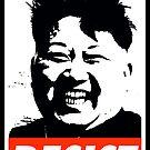 Kim Jong Un Resist by Thelittlelord
