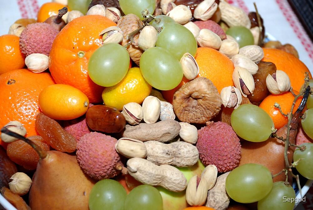 Früchteteller / Fruitplate by Sepgod