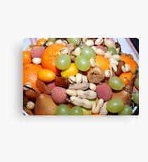 Früchteteller / Fruitplate Canvas Print