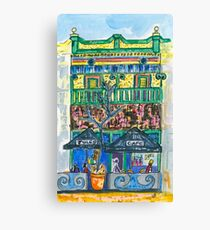 Jules Cafe Canvas Print