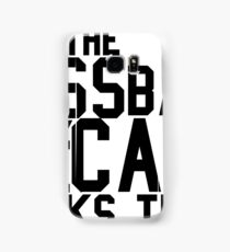 The Boss Back - Rick Ross Design Samsung Galaxy Case/Skin