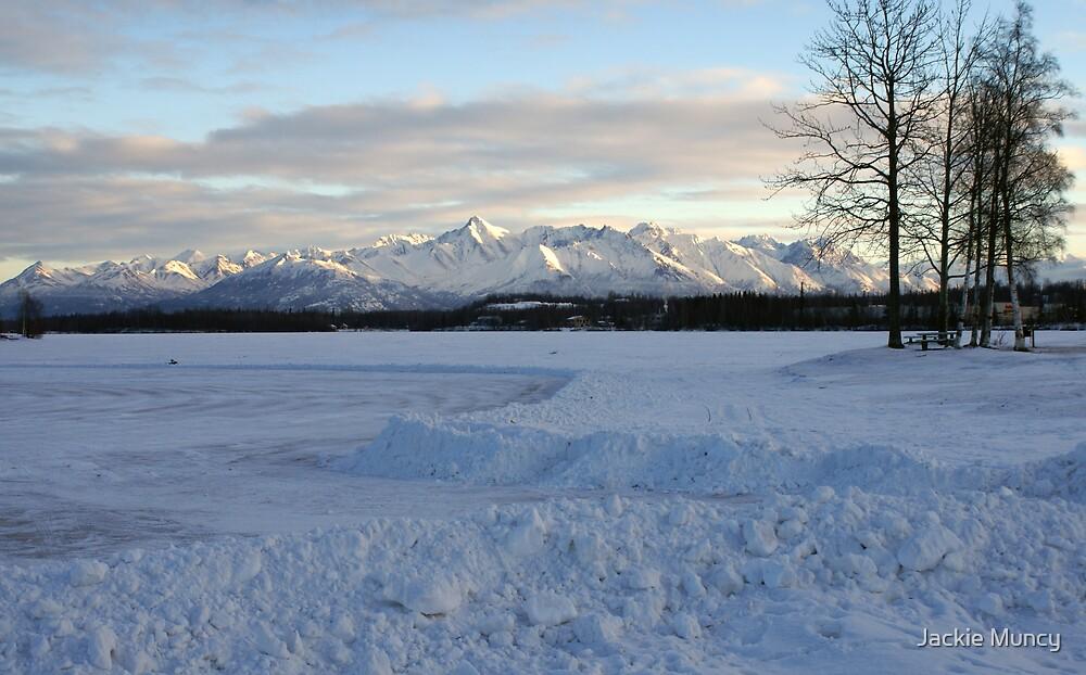 The lake is ready~ by Jackie Muncy