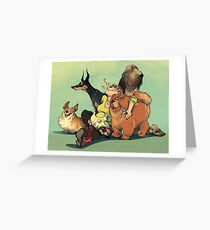 Dogs Dogs Dogs Greeting Card