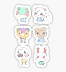 Animal Crossing Cuties Sticker
