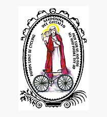 Madonna del Ghisallo Patron Saint of Cycling Photographic Print