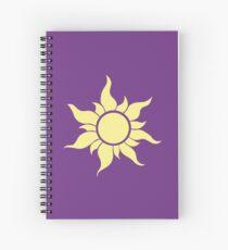 Rapunzel Family Logo - Tangled Spiral Notebook