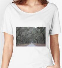 Wormsloe Plantation Savannah Women's Relaxed Fit T-Shirt