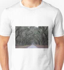 Wormsloe Plantation Savannah Unisex T-Shirt