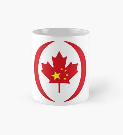 Chinese Canadian Multinational Patriot Flag Series Mug