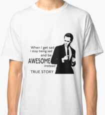 himym Barney Stinson Suit Up Awesome Classic T-Shirt
