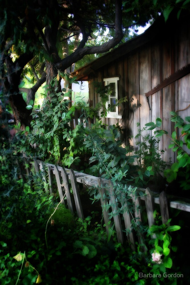 I Happened Upon A Cottage... by Barbara Gordon