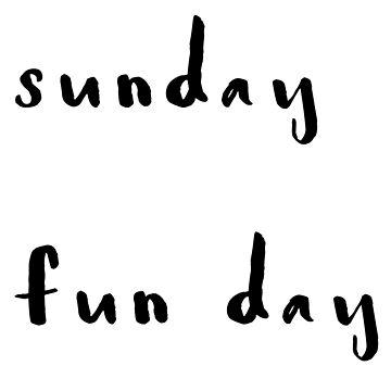 Sundays by jinabean8