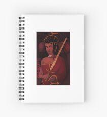 Shai Away: Aminah Tarot Spiral Notebook