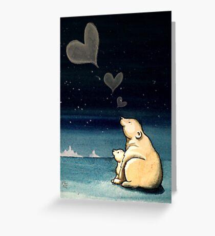 Polar Love Greeting Card