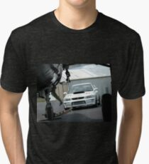 Framed by a Wing Tri-blend T-Shirt