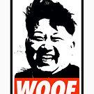 Kim Jong Un WOOF by Thelittlelord