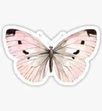 Butterfly flutter - soft peach Sticker