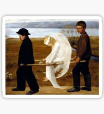 Hugo Simerg The Wounded Angel Sticker