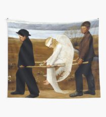 Hugo Simerg The Wounded Angel Wall Tapestry