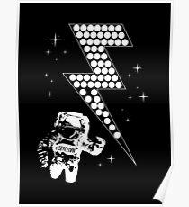 Raumfahrer Poster
