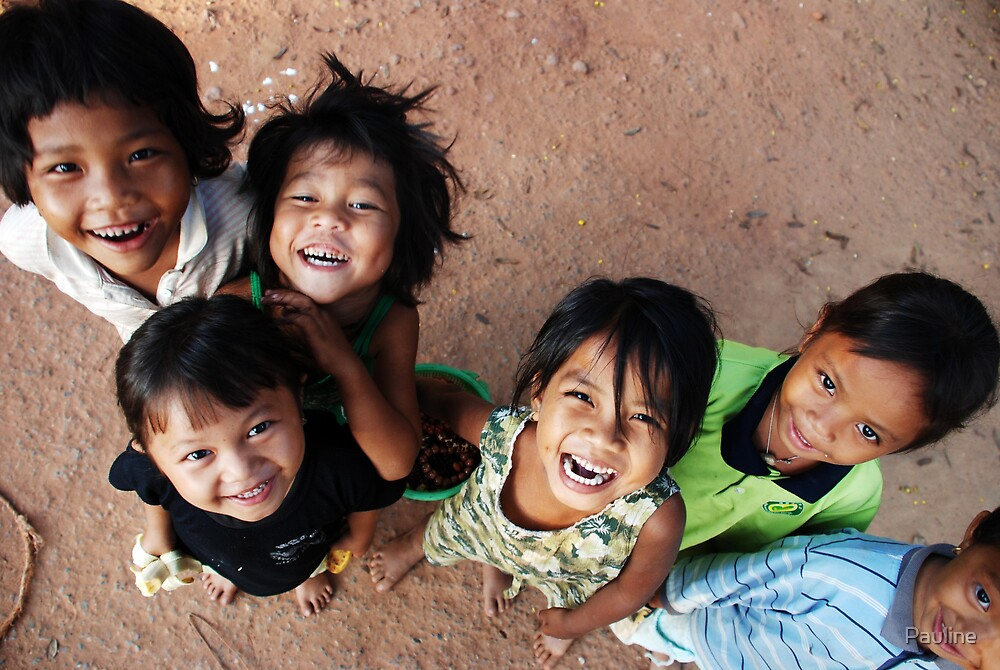 Angkor watt Kids by Pauline