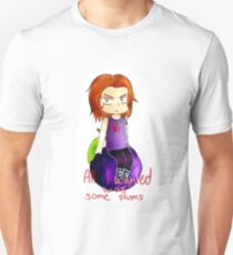 All Bucky wanted was some plums Unisex T-Shirt