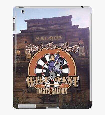 Wild West Darts Saloon Darts Shirt iPad Case/Skin