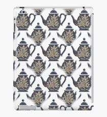 Tulips and Willow Pattern Teapot iPad Case/Skin