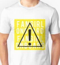 FANGIRL ONBOARD T-Shirt