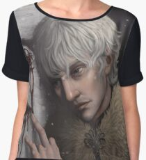Theon Greyjoy, The Prince of Winterfell Chiffon Top