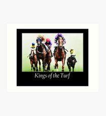 Kings of the Turf Art Print