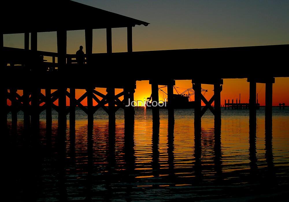 Sunset Pier by Jonicool