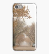 Small Town Autumn iPhone Case/Skin