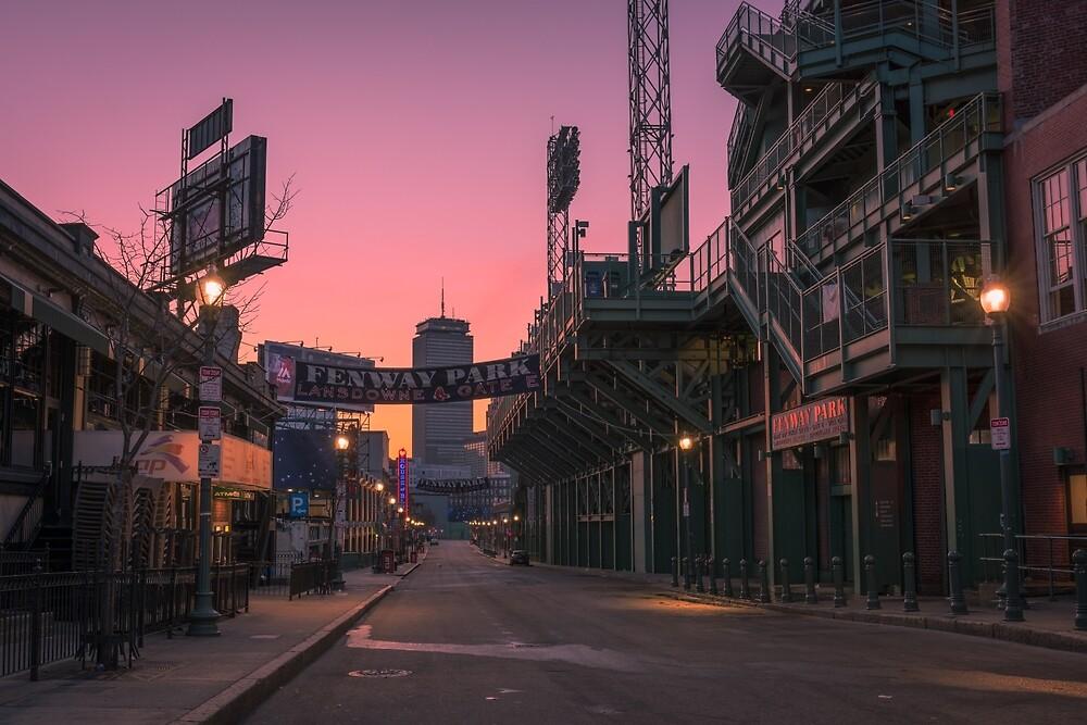 Fenway Park, Boston. by mattmacpherson