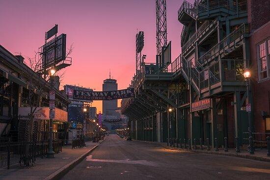 Fenway Park, Boston. von mattmacpherson