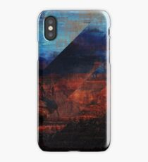 Deconstructing Time Altered Landscapes Grand Canyon iPhone Case/Skin